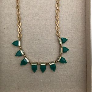 Stella & Dot Green Statement Necklace